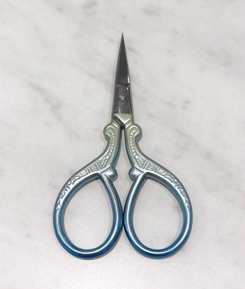 Green/Blue Pastel Gradient Scissors