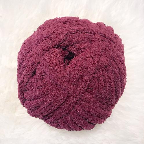 Burgundy Plum - Bernat Blanket Extra