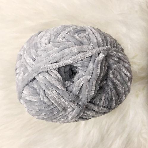 Softened Blue - Bernat Velvet