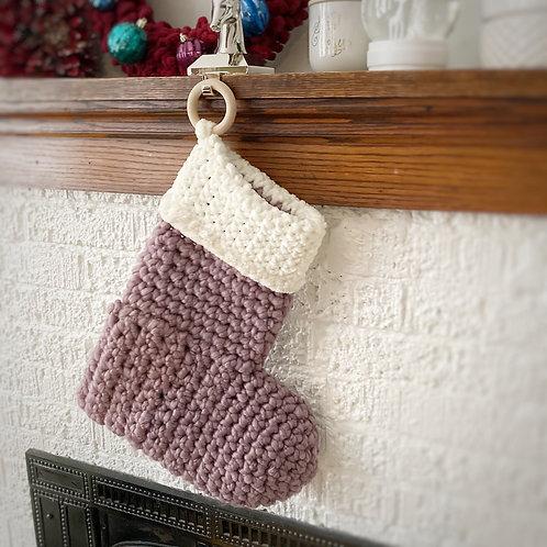 Lavender & Cream - Holiday Stocking