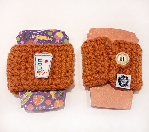 PSL - Orange Cup Cozy
