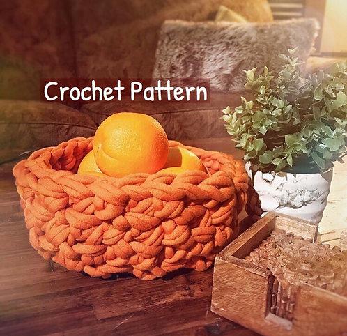 Big Bowl - Crochet Pattern