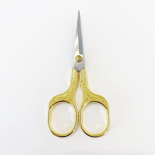 Gold Floral Scissors