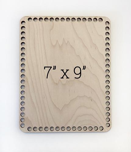"""7"""" x 9"""" Wood Basket Bottom"""