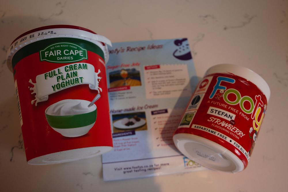 2 ingredient healthy sugar free icelollies ot make at home