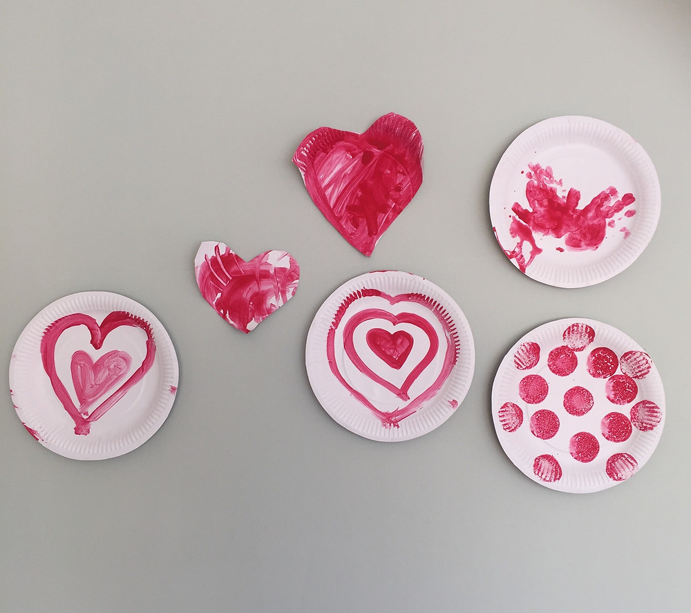 Valentines , heart craft project fail.