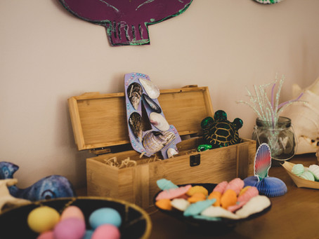 Flipping easy DIY Mermaid Party for Emily's 4th Party