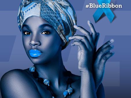 I am a #BlueRibbon Champion. My Choice, My Body , My Future.