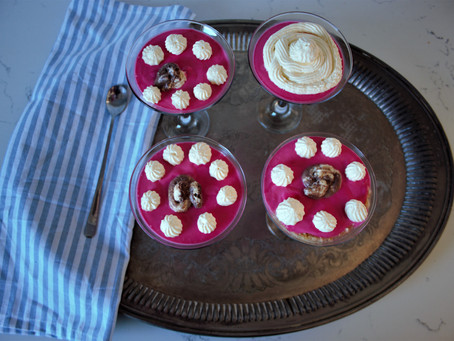 Recipe : Yogurt and jelly Puddings with Fair Cape