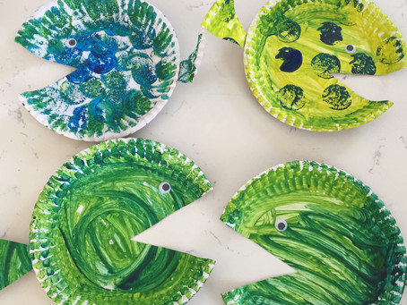 DIY : Paper fish for a party tutorial