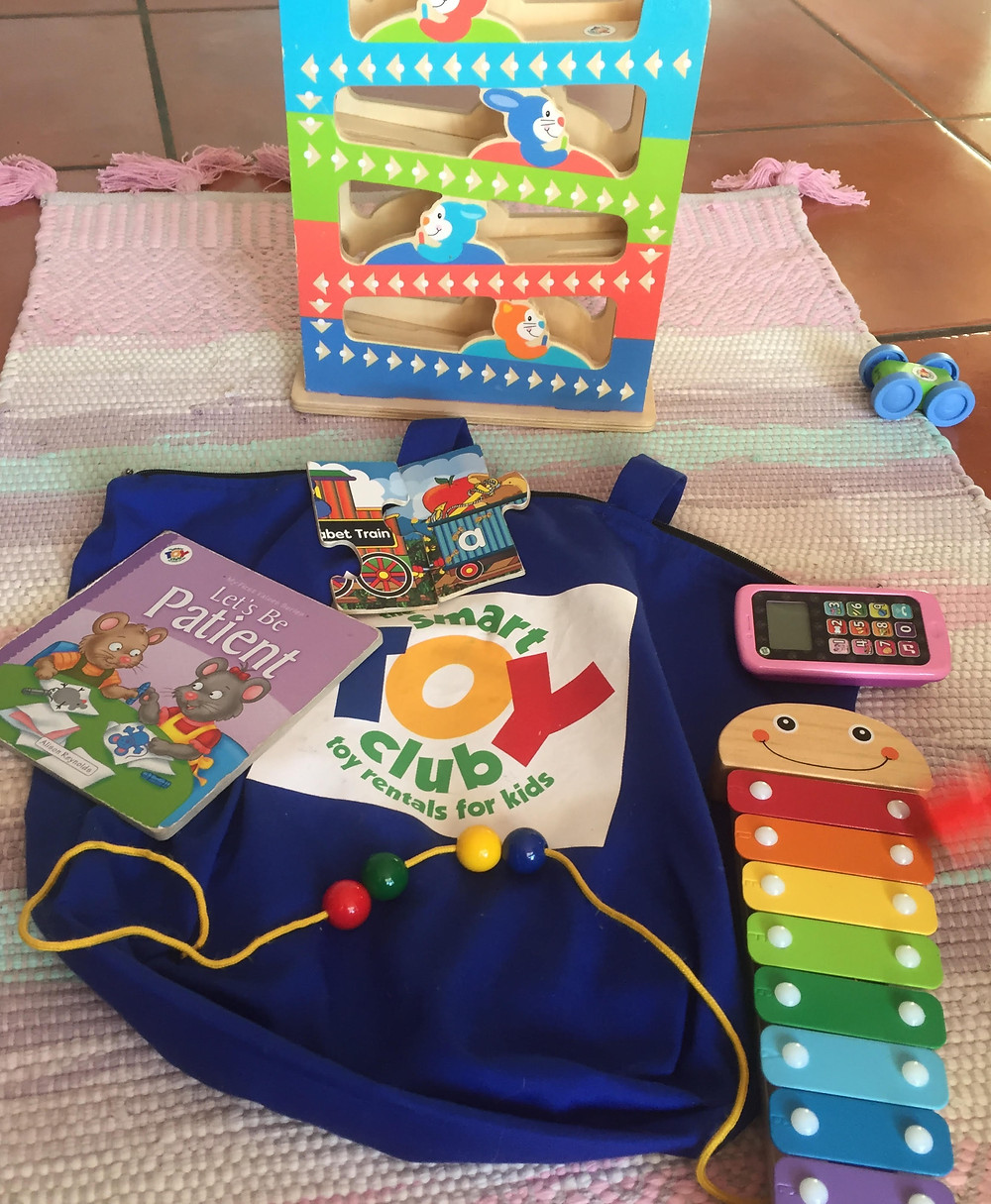 Smart Toy Club is a toy subscription service. Delivery bag of toys monthly to keep children entertained.