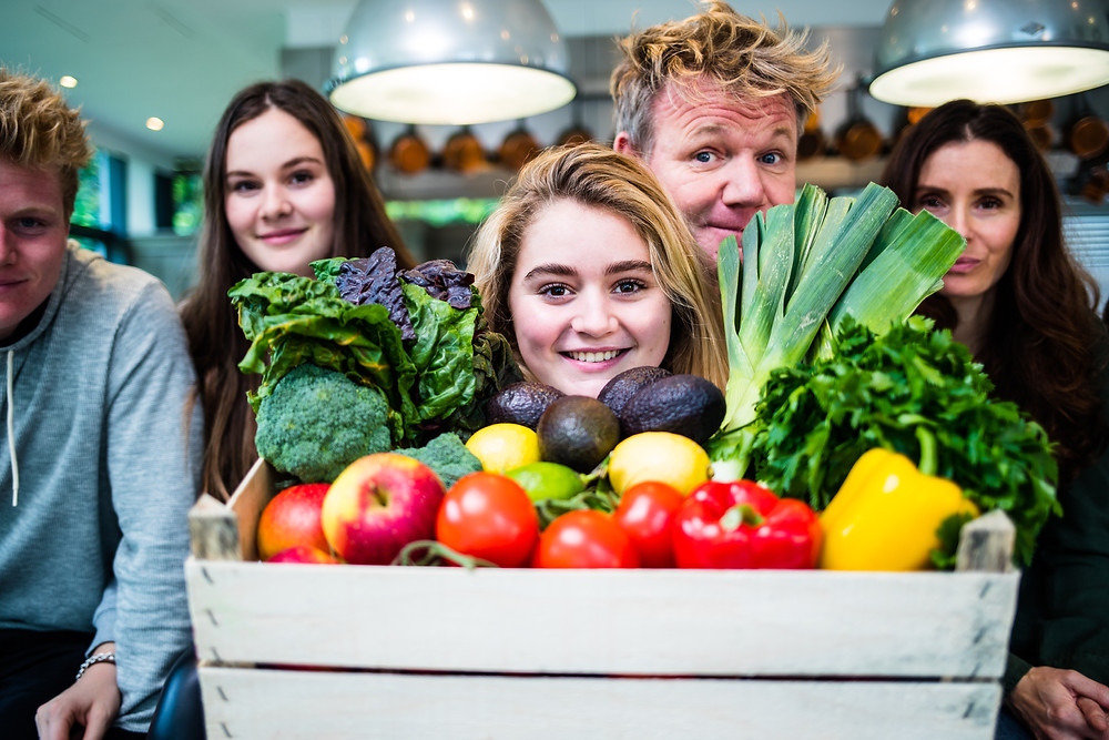Matilda Ramsay has a cooking show  for children. teaching them the basic principles of cooking.
