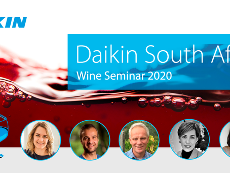 (Wine News) Daikin Raises a glass to the South African Wine Industry.