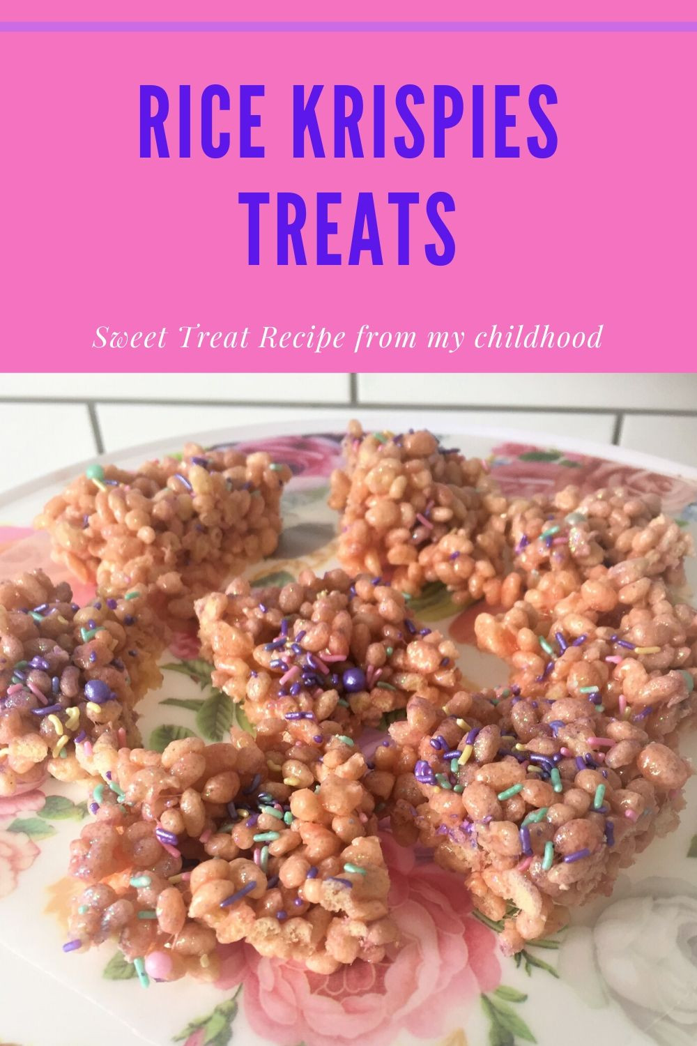 Easy recipe to make Rice Krispies Treats. Simple and easy to make with children. Just need Rice Krispies and Marchmallows.
