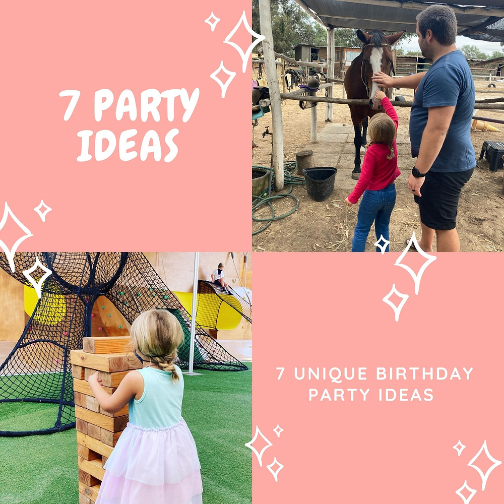 & Party ideas for children in Cape Town south africa. Not boring party ideas. Kids party