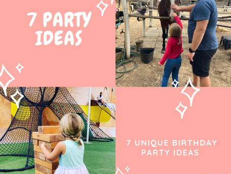 7 Birthday Party Ideas for Children in Cape Town