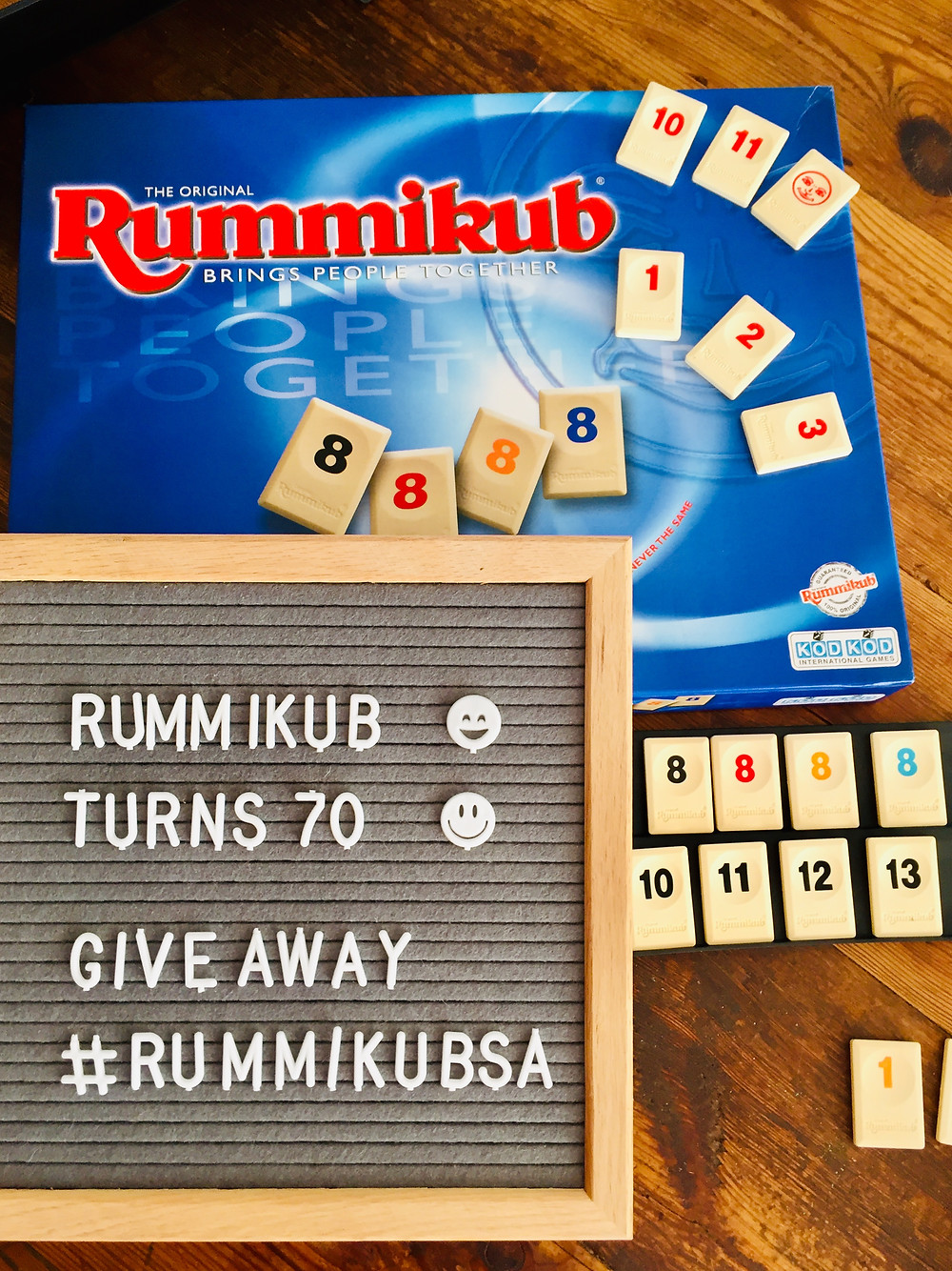 Primatoys Rummikub has been in South Africa for 70 years. To celebrate this iconic game turning 70 they are giving away a set on my Mommyincapetown Instagram account.