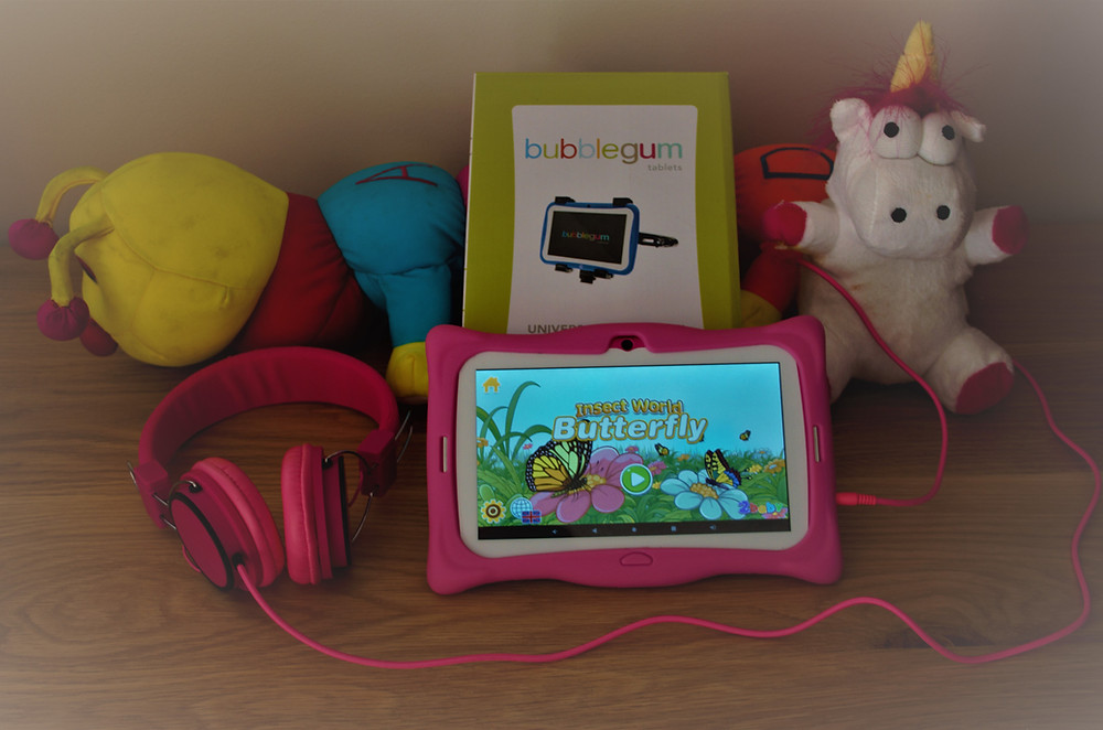 Bubblegum tablet bundle on sale in South Africa. Available at Cellucity. Child friendly tablet for learning and educations