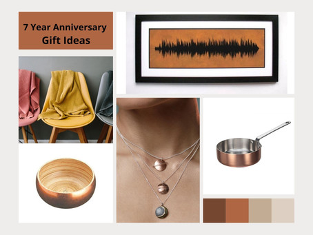 7-year anniversary gifts ideas