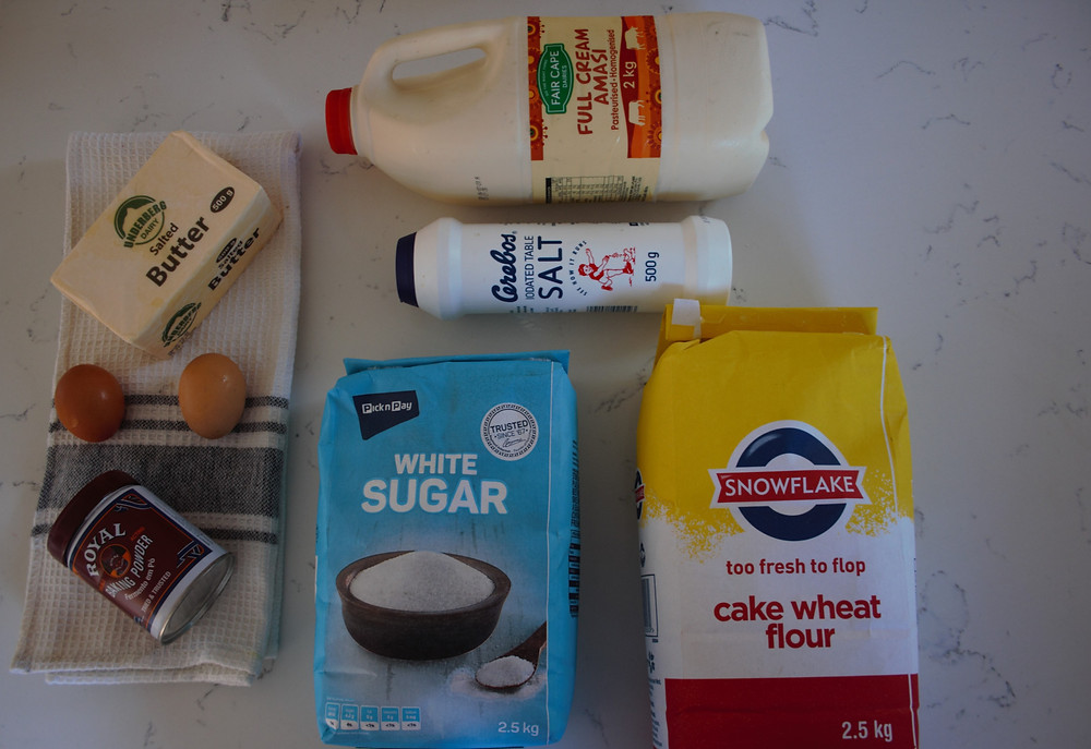 Easy rusk recipe using amasi from Fair Cape Dairies. Amasi is a sour milk substitute drunk in  Africa.