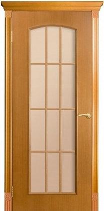 Межкомнатная дверь Глория с объем. филенкой