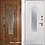 Thumbnail: Дверь Термо Лацио со стеклопакетом