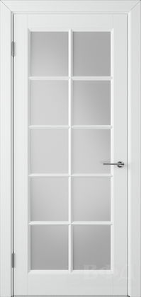 Со стеклом Дверь Массив ВД