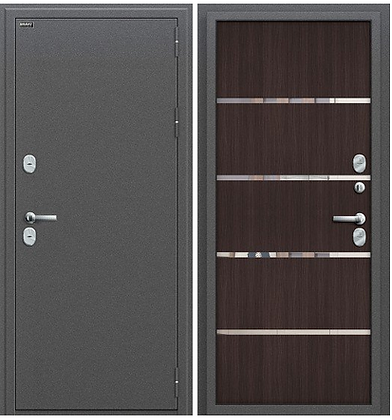 Дверь Термо с терморазрывом (с зеркалом)
