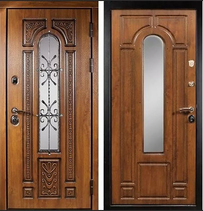 Дверь Термо Лацио со стеклопакетом