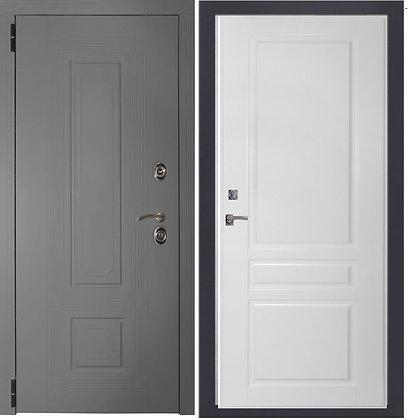 Дверь Италия серая