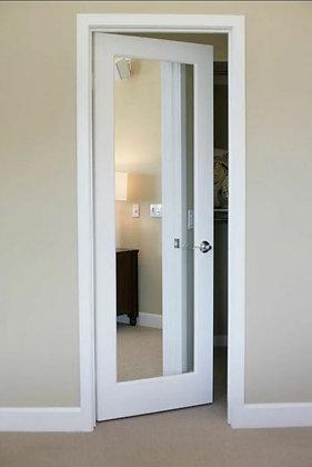 Дверь межкомнатная с зеркалом