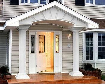 Двери в часный дом