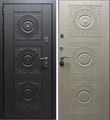 Богема Дверь входная металлическая  панель-панель
