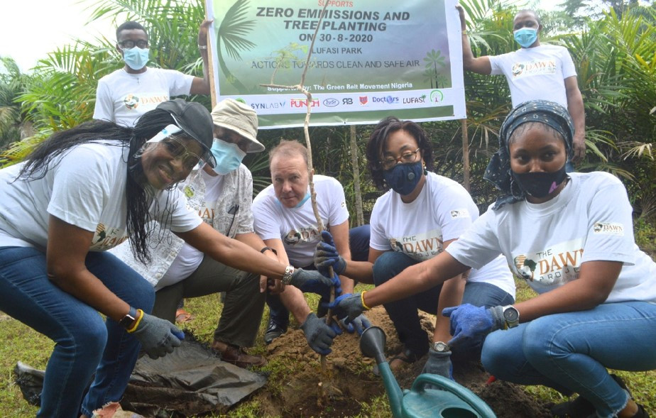 The Dawn Project Zero Emission and Tree planting event