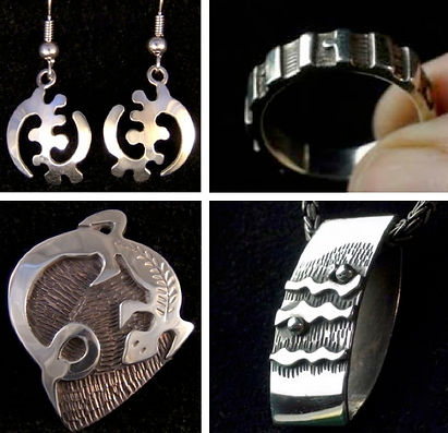 L. Starkweather, Hand Wrought Silver & C
