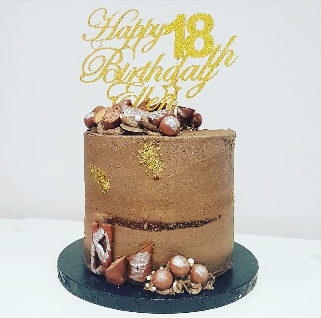 Chocolate Buttercream Cake