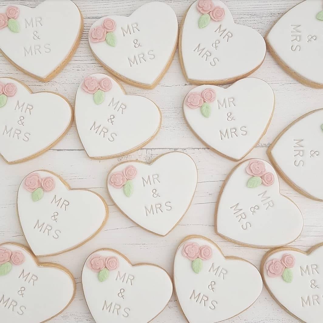 Personalised Wedding Cookies