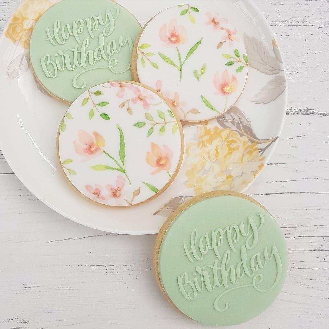 Hand Painted Sugar Cookies