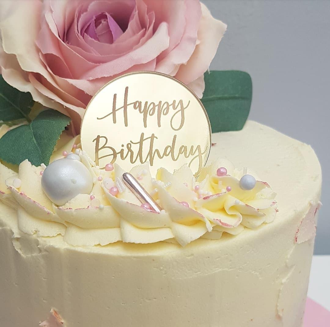Buttercream Cake details