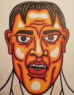 Angry Orange Man