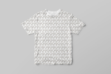 T-Shirt: Pip Pip Pattern