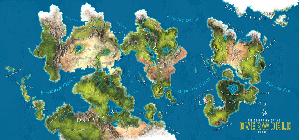 Map: the Overworld