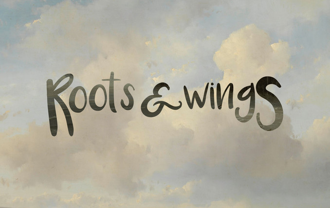 Wordmark: Roots and Wings