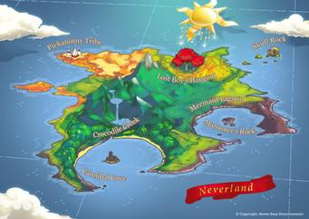Map: Never-Neverland
