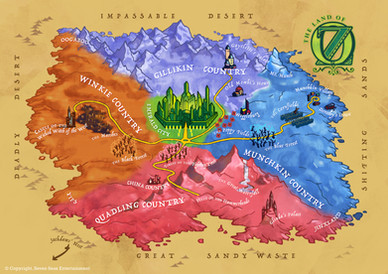 Map: Oz