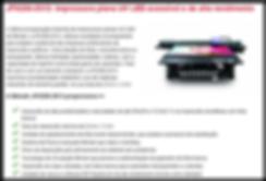 Impressora Mimaki UV JFX200