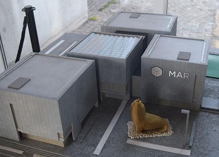 Maqueta de Museo del Mar
