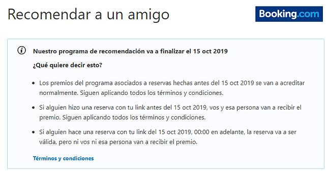 Booking_da_de_baja_programa_referir_a_un