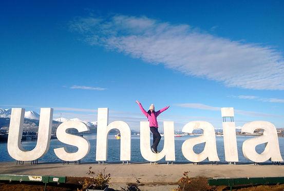Letrero Ushuaia - Tierra del Fuego