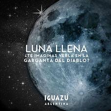 Paseo de Luna Llena Parque Nacional Igua